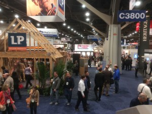 The IBS convention expo in Las Vegas, January 2016. (Photo credit: Ralph Bivins, Realty News Report)