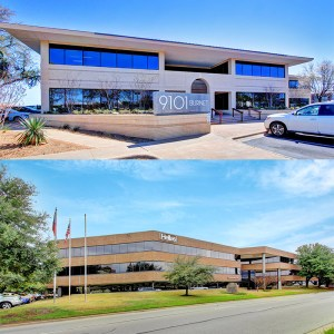 Valor Capital bought these two Austin buildings.