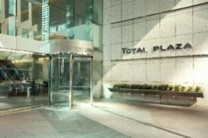 Total Plaza, downtown Houston.