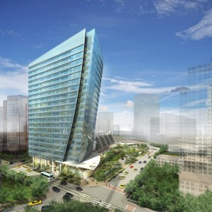 Cushman & Wakefield and Prologis will be tenants in this new Crescent building in Dallas.