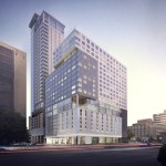 Rendering of InterContinental Houston Medical Center.