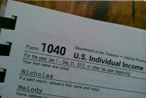 Taxes picture
