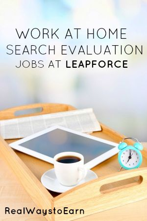 Get a job at Leapforce as a work at home search engine evaluator. Full review with details.