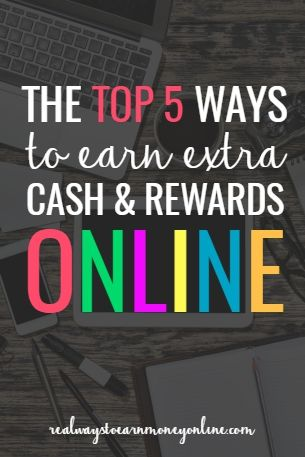 Do you want to spend some extra time online earning Paypal cash and Amazon codes? Here's a list of the five best, most reputable rewards sites to use for doing that.
