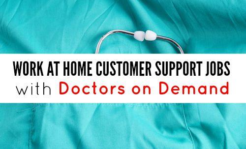 Become a Customer Service Representative at Doctors on Demand