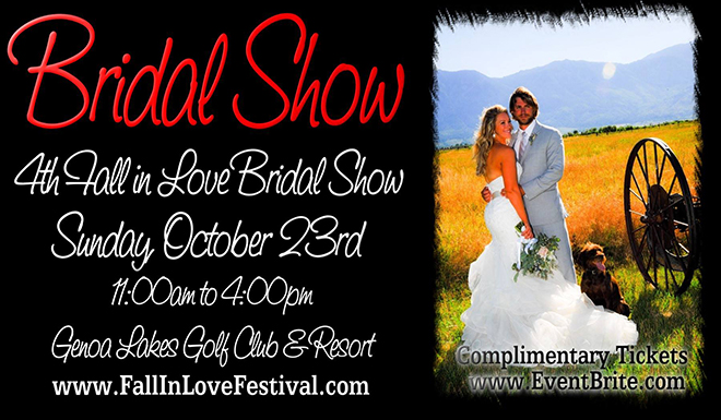 Genoa Wedding Event: Don't Miss the Fall In Love Festival Bridal Show TOMORROW