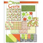 Citrus Curls Fabric Collection | ReannaLily Designs | Jen Eskridge