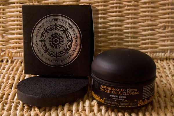Jabón negro detox de Natura Sibérica