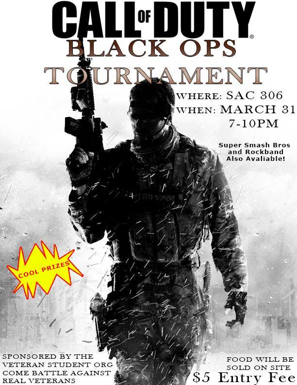 VeSO's Call of Duty tournament is one event the club hosted recently. About 40 students were in attendance.