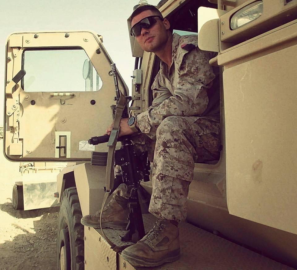 David Rampil, Anti-tank Missileman, Marine Corps.