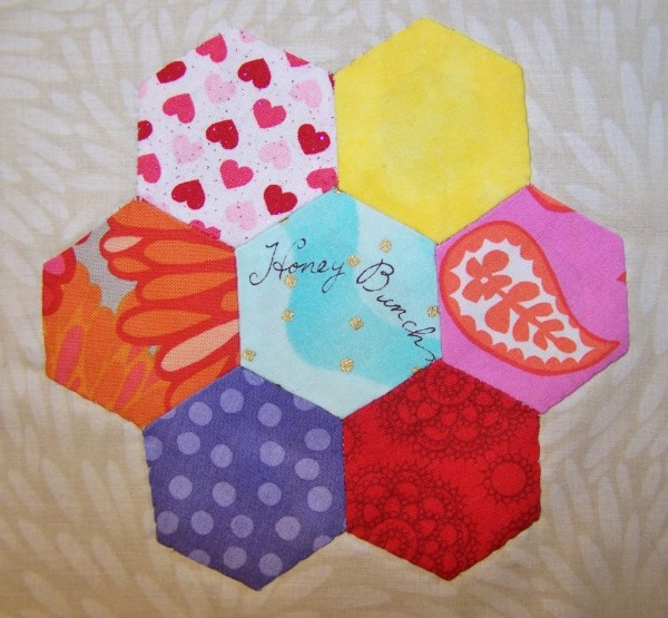 hexagon flower