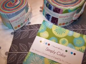 v & co simply color fabric