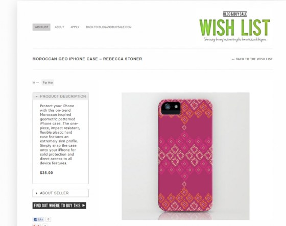 Moroccan Geo_iPhone Cover_feature