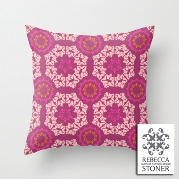 Moroccan Textured Tile_Cushion