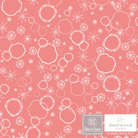 Prairie by Rebecca Stoner for Dashwood Studio - PRAI 1056_coral