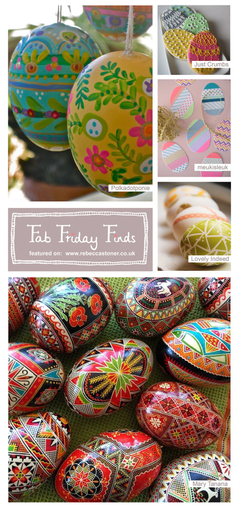 Fab Friday Finds - week 4 on Rebecca Stoner www.rebeccastoner.co.uk