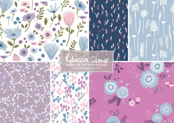 Garden Floral Collection by Rebecca Stoner www.rebeccastoner.co.uk