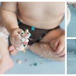 Cake smash – first birthday {Cedar Rapids baby photographer}