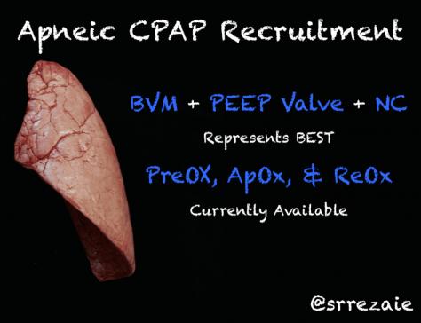 Apneic CPAP