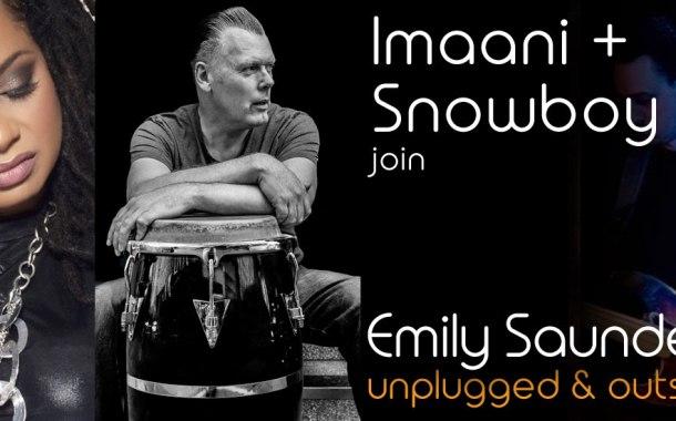 Imaani & Snowboy headline Emily Saunders' next Voice Mix