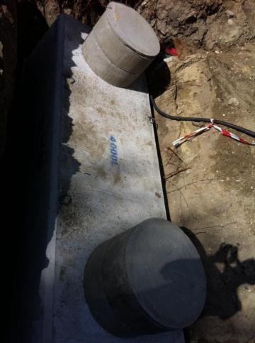 Cuve enterrée eau de pluie