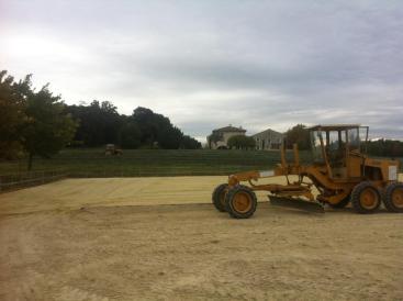 Micro sable pour centre équestre