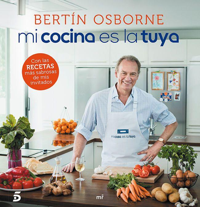 Bertín Osborne Presenta el Libro Mi Cocina es la Tuya