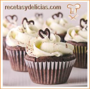 cupcake de vainilla