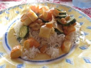Riz asiatique aux Corayas