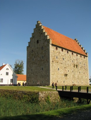 Glimmingehus, an amazingly-preserved medieval fortress in the once Danish region of Skåne.