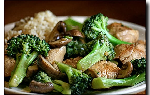 Chicken Broccoli Mushroom Stir Fry