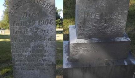 McAbee Headstone