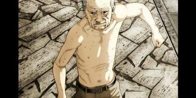 badass old men in anime
