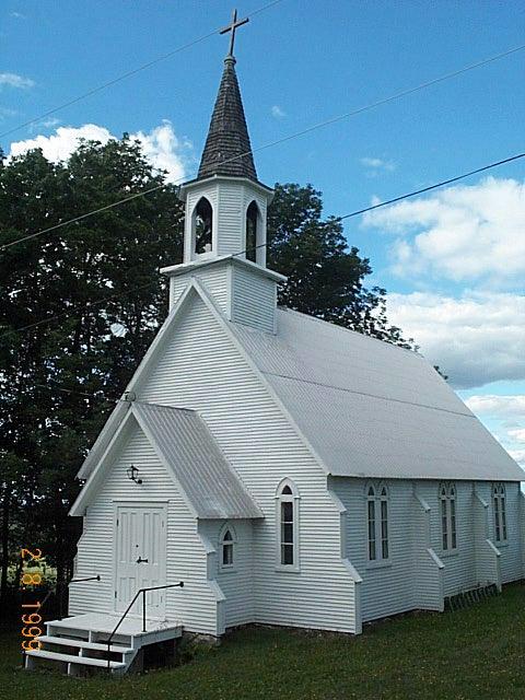 Église profil
