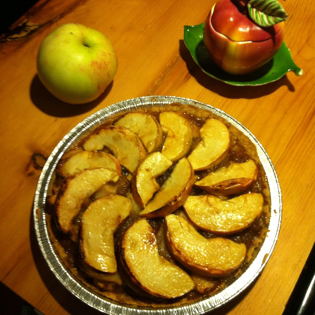 Tarte aux pommes préparée avec la pomme Dickson