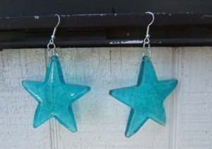 star-melted-bead-earrings