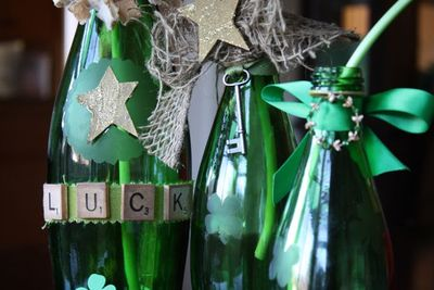 Recycle Green Bottles Into The Perfect St Patricks Day