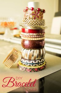 DIY BRACELET TOWER