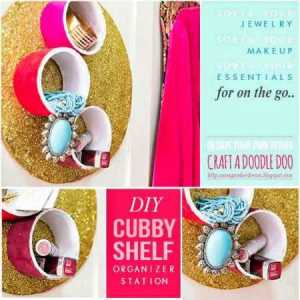 cubby shelf organizer diy