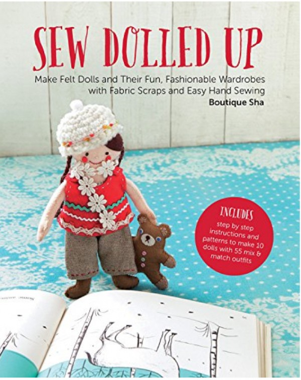 Sew Dolled Up book doll clothes patterns