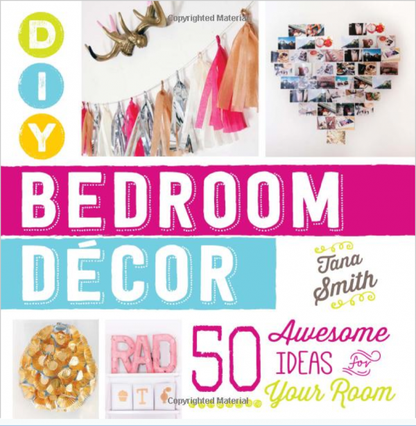 Giveaway diy bedroom decor 50 awesome ideas for your for Recycled room decoration crafts