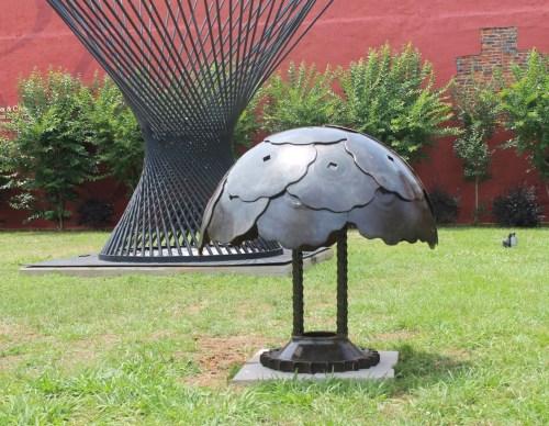Medium Of Metal Yard Art