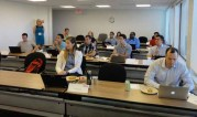 Opening the class at Red Hat, Palo Alto, CA.