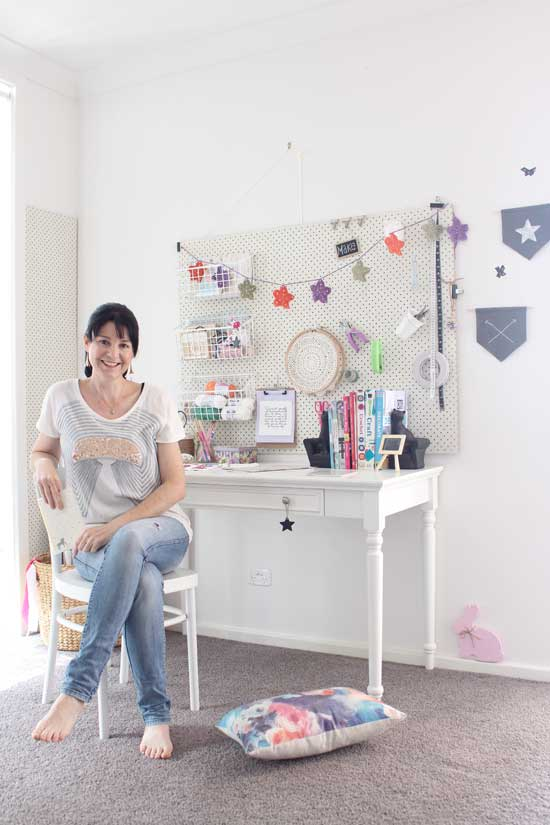 my home office and craft room tour organisation c
