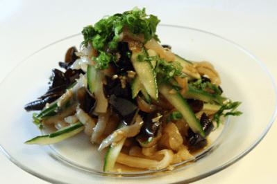 Jellyfish and Wood Ear Mushroom Salad