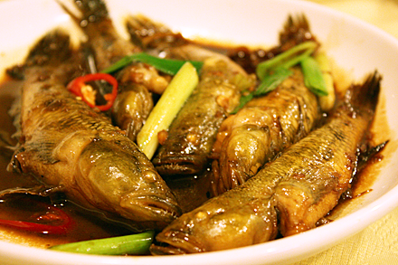 Fujian Catfish in Soy Sauce