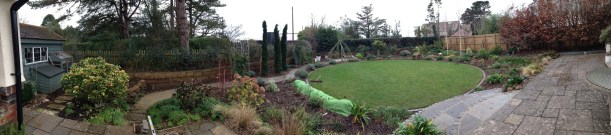 round lawn garden