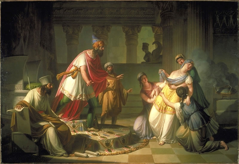 Esther 5 - Esther Goes Before the King