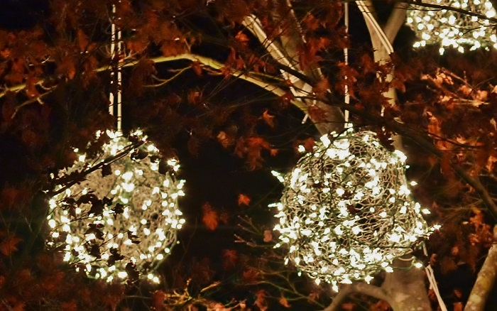 Non Chicken Wire Lighted Christmas Balls Redeem Your Ground