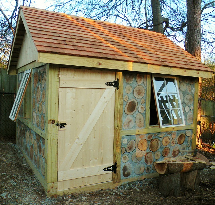 Garden Shed Ideas Ireland : Irish Garden Shed ? Clearly, Not Your Everyday Shed